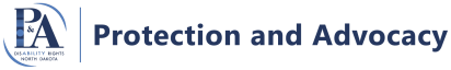 Protection and Advocacy logo